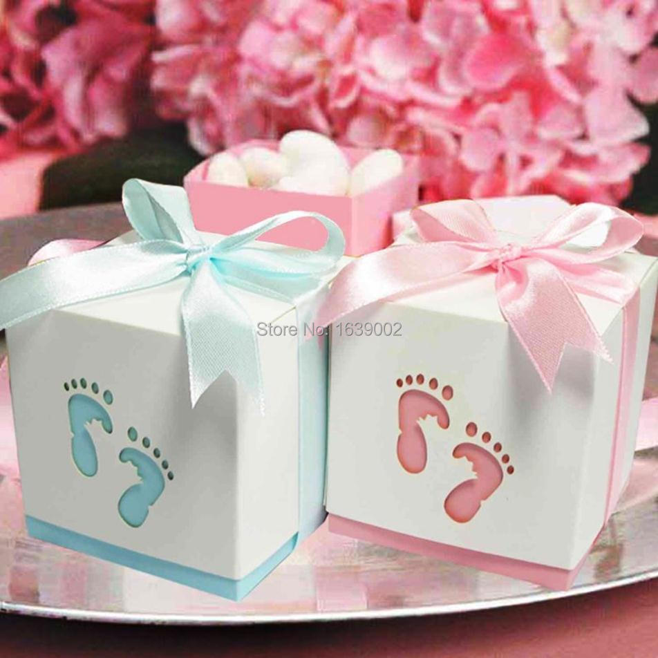 Wholesale 2017 newest little feet hollow gift box cheap candy box ...