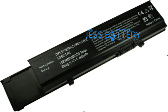 New laptop battery for DELL vostro 3400 3500 3700  7FJ92 0TY3P4 4JK6R CYDWV 312-0997 312-0998 04D3C 04GN0G 7800mah replacement laptop battery for dell inspiron 1501 6400 e1505 latitude 131l vostro 1000 312 0461 gd761 ud267