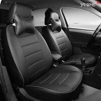 Yuzhe кожаный чехол автокресла для Ford Mondeo Focus 2 3 Kuga Fiesta EDGE EXPLORER Fiesta Fusion автомобильные Аксессуары Укладка подушка