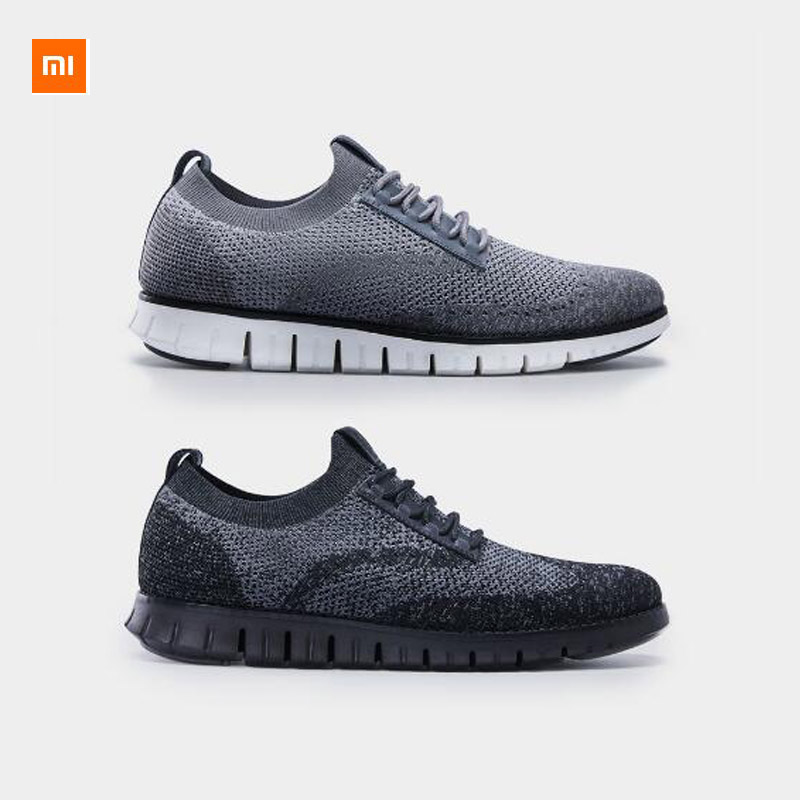 Xiaomi Youpin Seven skin Leather Cool Soft Casual Shoes PHYLON Light Elastic Bottom DuPont Antibacterial And