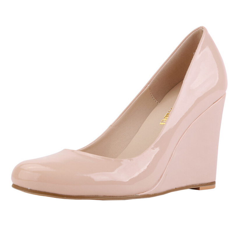 Popular Nude Wedge Heel-Buy Cheap Nude Wedge Heel lots from China ...