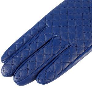 Image 4 - Guantes mujer, cuero genuino, forro de algodón, guantes de cuero azul, guantes de cuero para mujer, guantes de mujer