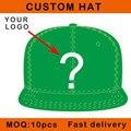 Por encargo del bordado 3D visera plana moda hip hop casquillo del deporte logotipo de clientes amplia E111-17
