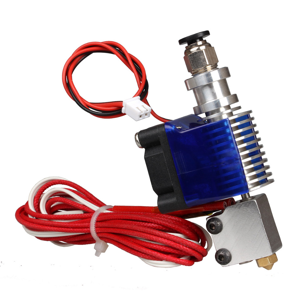 V6 Hotend Extruder with Volcano Nozzle All Metal J head 3D printer for 1 75mm filament
