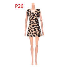 1pc Best Baby Gift fashion sexy Leopard Pattern Sundress for Girl Dress(China)