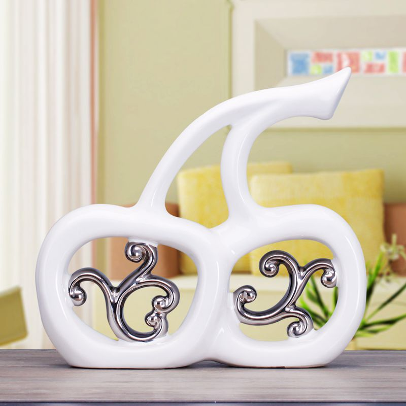 Apple Home Decor: Ceramic Apple Lovers Home Decor Crafts Room Decoration