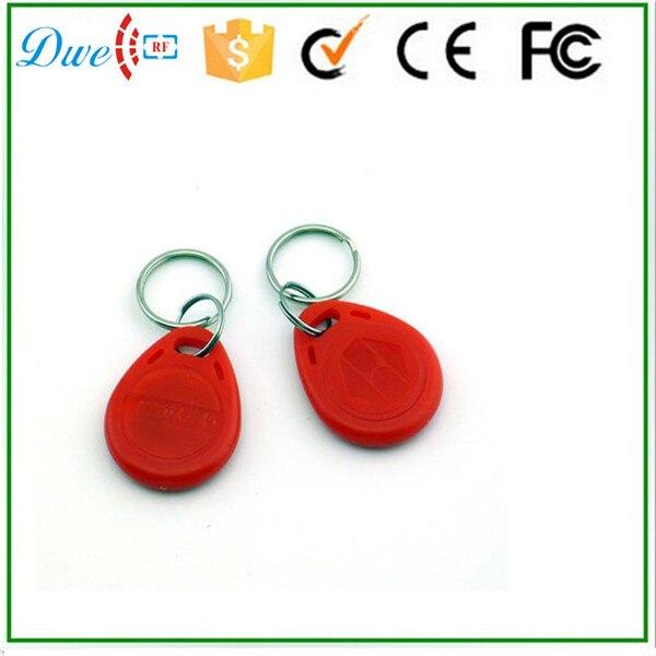 DWE CC RF 125khz Door keychain rfid tag TK4100 100pcs per lot