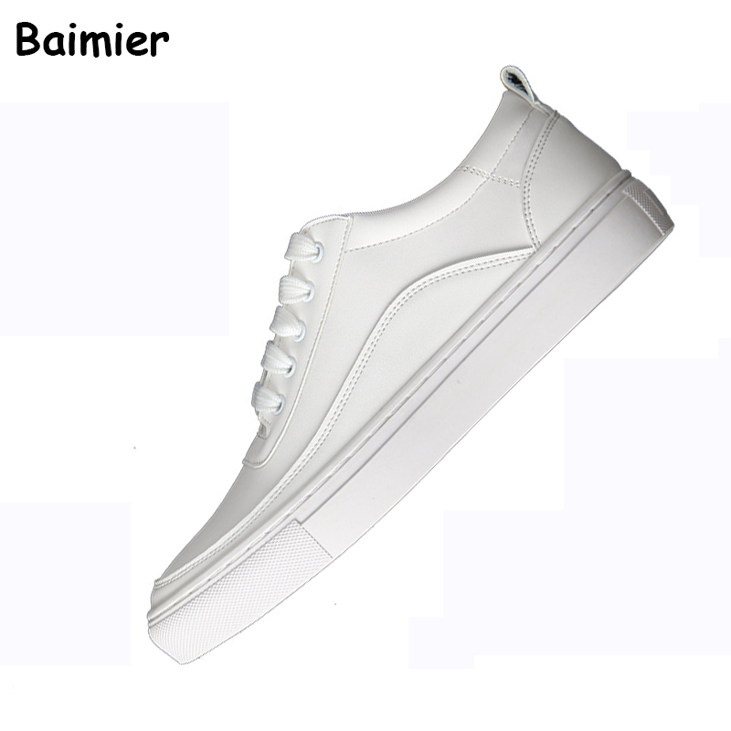 2018 Classic White Shoes Women Fashion Sneakers Flats Solid Shallow Women Casual Shoes lace-up scarpe donna Student Sport Shoes