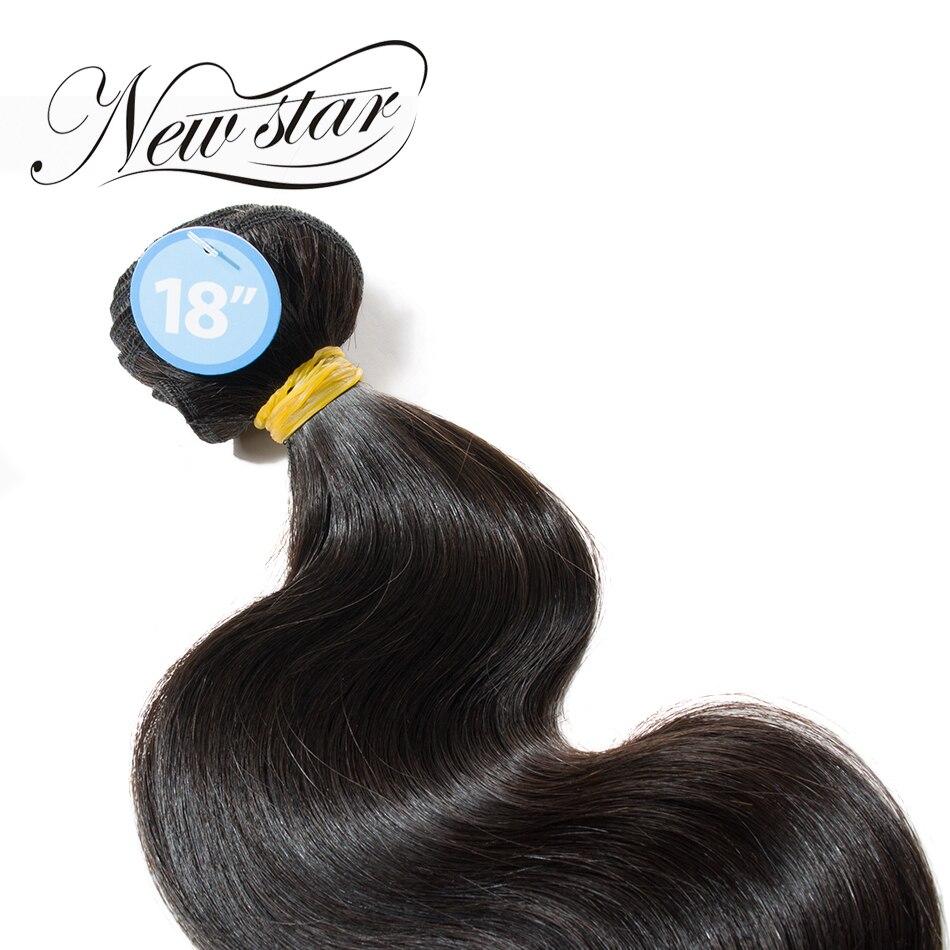 NY STAR Brazilian Body Wave 100% Unprocessed Tjock Natural Color - Barbershop - Foto 3