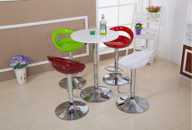 Verde rosso colore bar trasporto libero sedia sala da pranzo sala