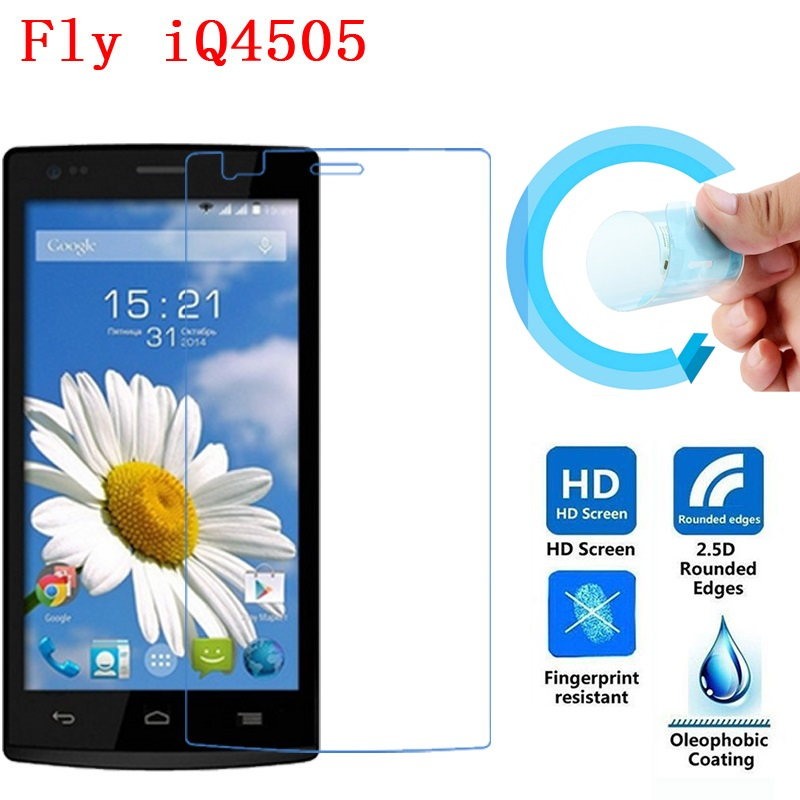 Fly IQ4505 Screen Film, 2.5D Ultra-Thin HD Clear Soft Pet Screen Protector Film for Fly IQ4505 ERA Life 7 Quad