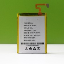 Original GIONEE Battery  3.8V 2700mAh BL-N2500 Gionee ELife E7 E7T GN9002 For elife battery