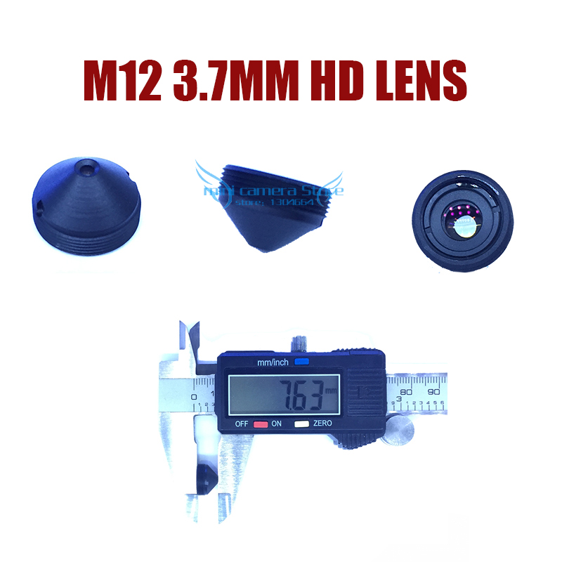 HD mini M12-3.7MM Pinhole lens for cctv video surveillance camera CCD/CMOS/IPC/AHD IP Cctv Camera DIY Module Free shipping gotake mini security camera cctv ahd 1080p 3 7mm pinhole lens 1 3 ccd wired surveillance analog video bullet type with stand
