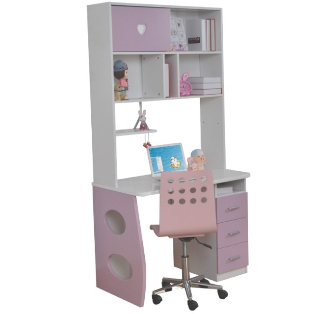 1 m young childrens furniture computer desk study tables desks bookshelves simple shaped desk desks - Desks With Bookshelves