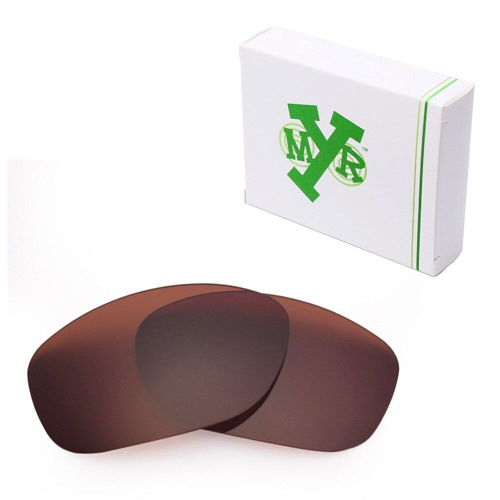 Mryok ПОЛЯРИЗОВАННЫЕ замены Оптические стёкла для Oakley питбуль Солнцезащитные очки для женщин Бронзовый коричневый