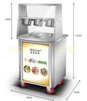 Нержавеющая сталь 220 В 110 В быстро морозильник Таиланд круглый жареными машина мороженого один кастрюлю с 3 танки машина для готовки морожен
