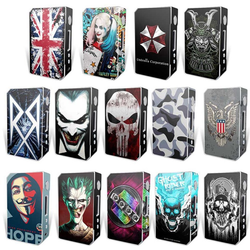 Electronic Cigarette Stickers For VOOPOO DRAG TC 157W Box Mod Skin Cover Sticker