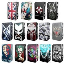 Electronic Cigarette Stickers For VOOPOO DRAG TC 157W Box Mod Skin Cover Sticker(China)