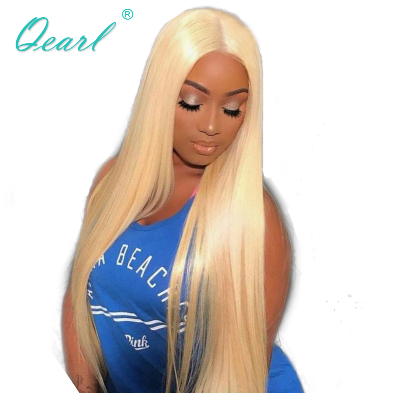 150 Density Pre Plucked Lace Front Wigs With Baby Hair 8-22 Inch Straight Remy Hair Glueless Brazilian Human Hair Wigs