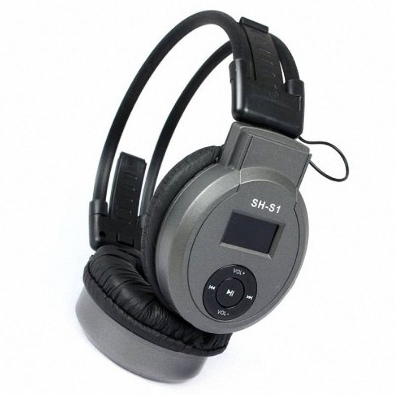 9931fd62c8c HI FI MP3 Player Sport Foldable On Ear Headphone MP3 Player Headset With FM  Radio TF Card Player 3.5mm AUX Cable For PC TV Phone-in MP3 Player from  Consumer ...