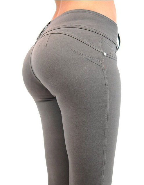 Push Up Casual High Elastic Trousers