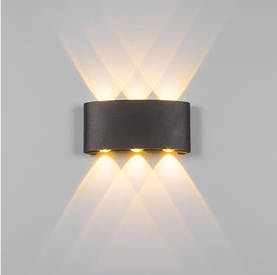 Lights & Lighting Selfless Led Outdoor Wall Sconce Porch Up Down Light Fixtures Waterproof Lamp Exterior Lighting Indoor Modern For Bedroom Garden Home Led Outdoor Wall Lamps