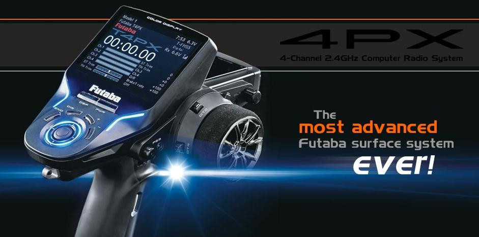 Futaba 4PX-R304SB le système de Radio d'ordinateur 2.4 GHz le plus avancé et le plus haut 3.5
