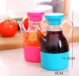 متعددة الوظائف المطبخ زجاجة توابل البلاستيك الصغيرة الكبيرة بيع تسليم الخل النفط وعاء صلصة الصويا التوابل علب GYH