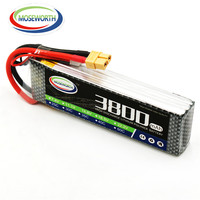 Battery Lipo 3S 11.1V 3800mAh 60C For RC Drone Car Helicopter Boat Airplane Quadcopter Model Remote Control Toys Lithium Battery