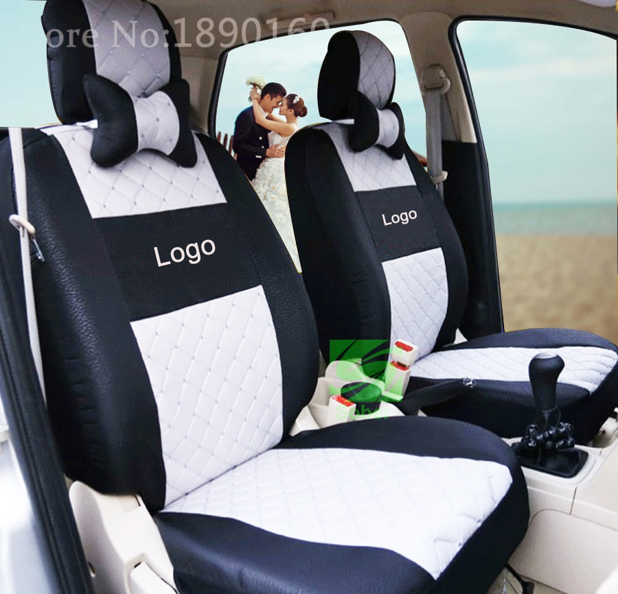 Hot Sale Polyester Fabric Universal Car Seat Cover for Alfa Fit Most Cars with Tire Track Detail Car Styling Car Seat Protector