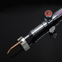 Mini Senior HHO Oxyhydrogen Gas Torch Welding Gun With 5 Pcs Water Soldering Gun Nozzles Backfire
