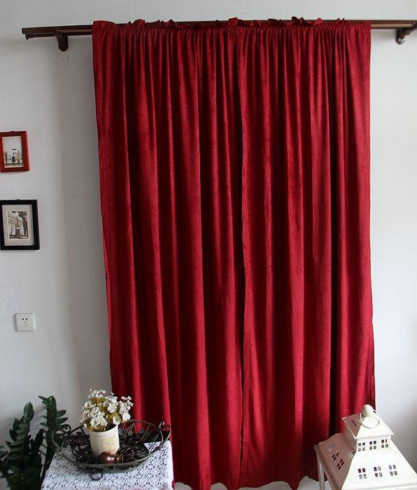Curtains Ideas burgandy curtains : Popular Burgundy Curtains-Buy Cheap Burgundy Curtains lots from ...