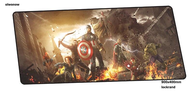 Movie Avengers Endgame Superhero Large Mouse Pad Gaming Play Mat Keyboard Mat