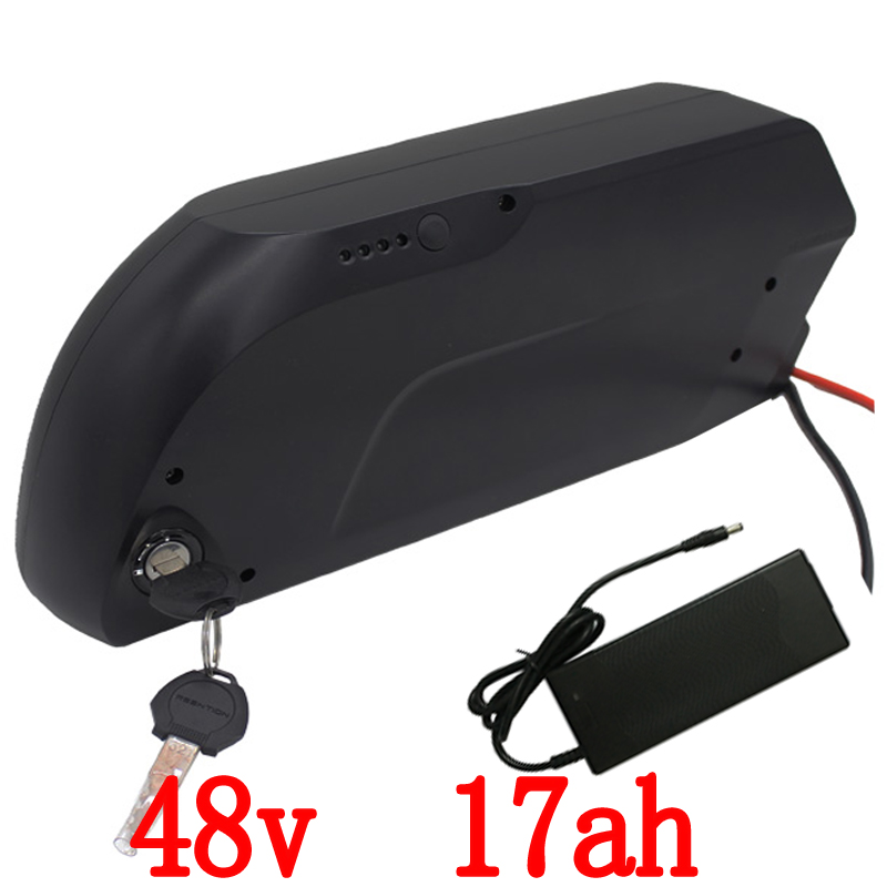 Livraison Des Douanes e-vélo utilisation de la batterie pour Panasonic cellulaire 48 V 17Ah tigre requin E-vélo li-ion batterie pour 8fun 48 V 750 W 1000 W kit moteur