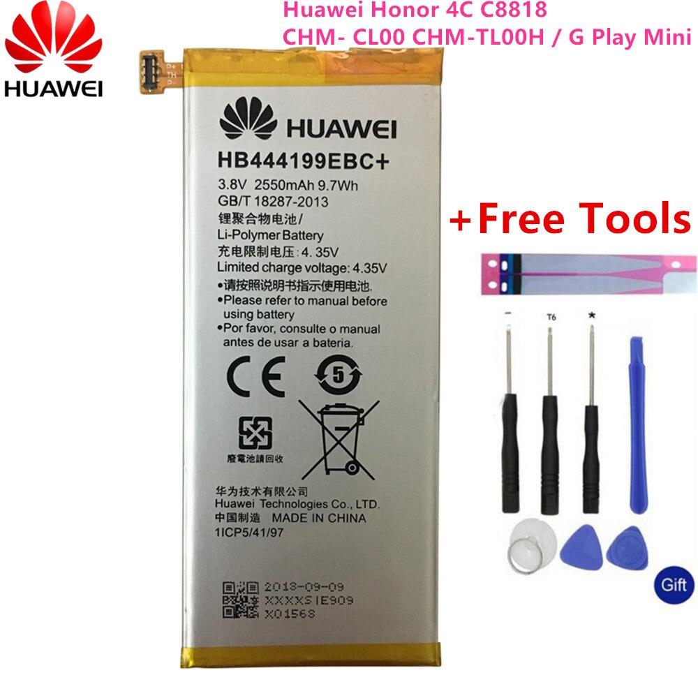 2550mAh Batería Original Huawei Honor 4C HB444199EBC+