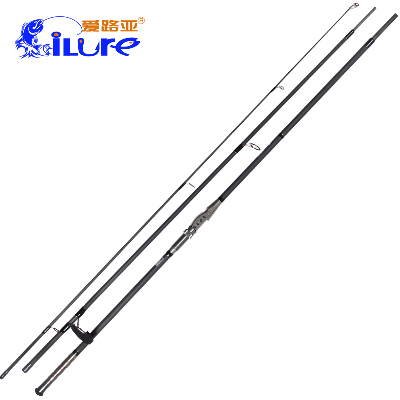 High Carbon 3.9m Carp Rod Strong Action 3.5lbs 3 Sections Carp Fishing Rod Full Metal Reel Seat
