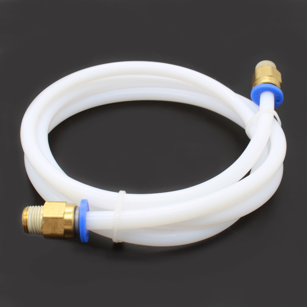 3d printer 1M PTFE Teflon Bowden Tube Reprap Tubing ID 2/4mm OD 4/6mm for 3D printer RepRap Rostock Kossel 1.75mm/3mm Filament