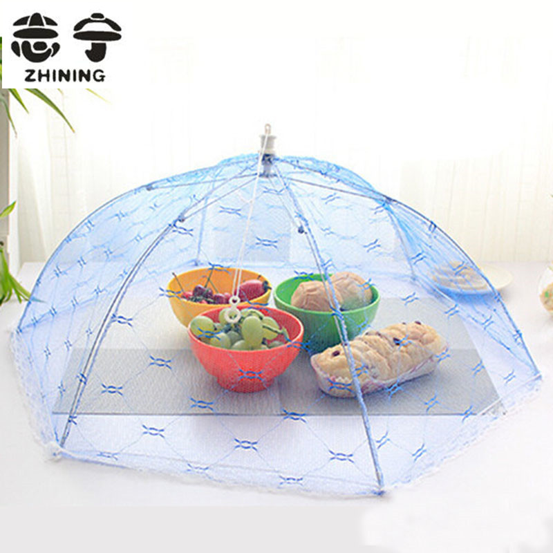 Food Covers Umbrella Style Anti Fly Mosquito Kitchen
