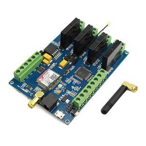Image 3 - Elecrow Leonardo Gprs Gsm Iot Board Met SIM800C Relais Schakelt Draadloze Projecten Diy Kit Geïntegreerde Board Met 8 Bit avr Mcu