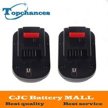 2X High quality 12V 2000mAh Replacement Power Tool Battery NI-CD For Black&Decker A12, A12-XJ, A12EX,A1712 FS120B, FSB12, HPB12