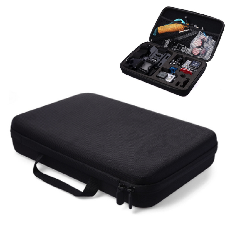 Portable Anti shock Protective Storage Carrying Case for GoPro Hero Small Medium Large Size Camera Accessory-in Sports Camcorder Cases from Consumer Electronics
