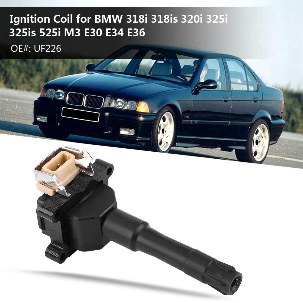 Auto Ignition Coil Pack for BMW 318i 318is 320i 325i 325is 525i M3 E30 E34  E36 90-95 UF226 Auto Ignition Coil - a192Google Sites