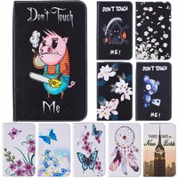 Fancy Colorful Pattern PU Leather Cover Flip Stand Feature Cards/Cash Holder Case for Samsung Galaxy Tab S2 8.0 SM-T715 T710