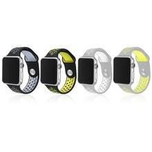 Para apple watch series1/2 deportes venda de reloj para la correa de reloj 42/38mm