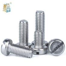 Ball-Head Screw-Machine A2-70 G67-Thread Stainless-Steel M1.6 M2.5 M5 M6 M3 M4 304 10/50-Slice