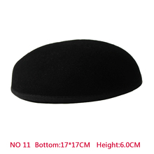 New Style 17*17 cm 100% Wool Anomalistic Fascinator Base Hat Millinery Form 10pcs/lot b055 round saucer teardrop sinamay percher hat fascinator millinery craft base