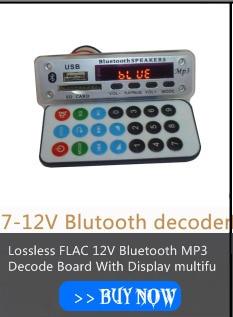 áudio MP3 Decodeing Board com Controle Remoto controle
