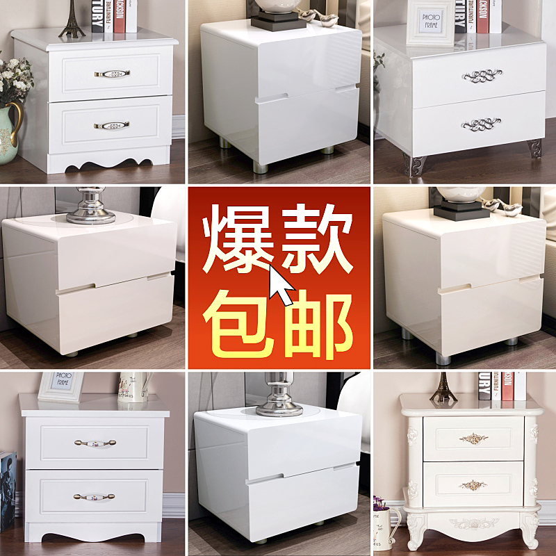 European table simple modern Korean white paint lockers ready two special offer simple bedside cabinet drawer cabinet box special offer wings xx4232 jc korean air hl7630 1 400 b747 8i commercial jetliners plane model hobby