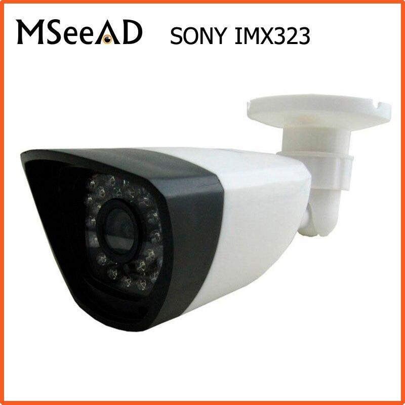 CCTV Night Vision Analog High Definition AHD 1.0mp Waterproof Outdoor Surveillance CCTV Camera AHD Camera Sony IMX323 2MP Kamera