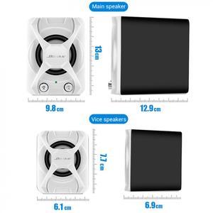 Image 3 - גבוהה כוח 3D סטריאו סאב 2.1 מחשב רמקול נייד בס מוסיקה DJ Soundbar טלוויזיה USB מחשב רמקולים למחשב נייד טלפון טלוויזיה